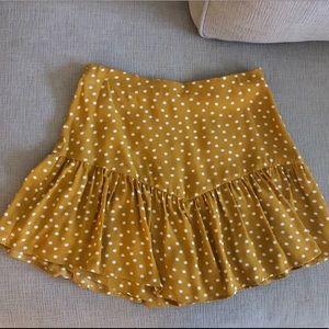 Zara Skirt Skort (shorts sewn inside)